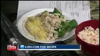 Sunday Brunch:  Julie Wheeler's Slim Spinach & Chicken Quesadillas