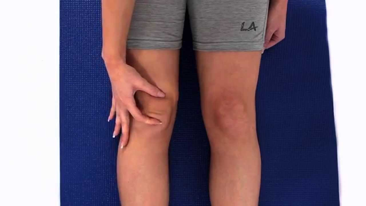 How To Improve Mobility Of Your Knee Cap Youtube