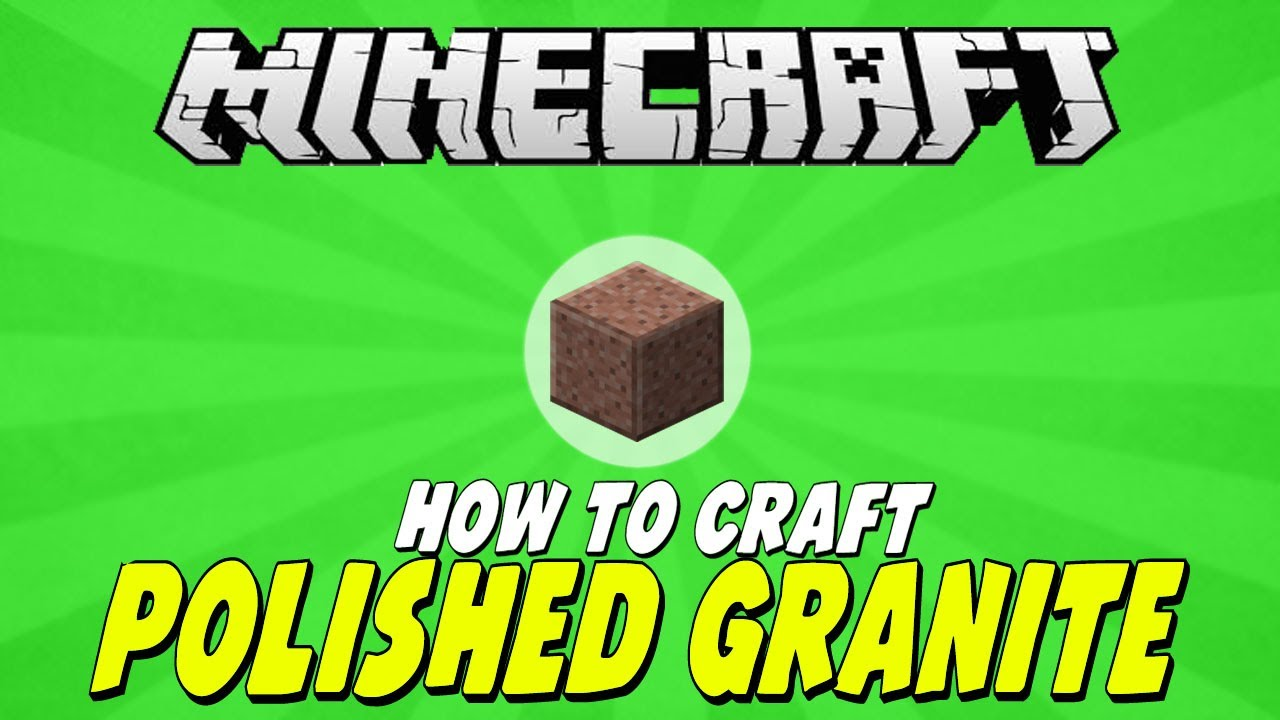 how to find granite in minecraft