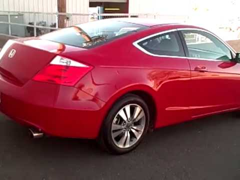 2009 Honda Accord Coupe Red N6303A Sonora Nissan Yuma AZ - YouTube