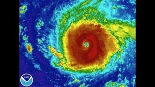 CATEGORY 5++ HURRICANE IRMA 23 FOOT WAVES CATASTROPHIC WARNING. Watch Hurricane Irma's path