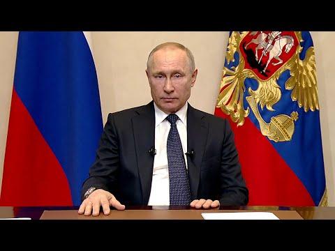 Следующая неделя в России будет нерабочей с сохранением заработной платы, сообщил Владимир Путин.