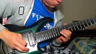 "All That Remains - ""Tru Kvlt Metal"" Guitar Solo Cover"