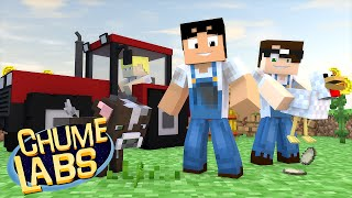 Minecraft: UM DIA NA FAZENDA! (Chume Labs 2 #66)