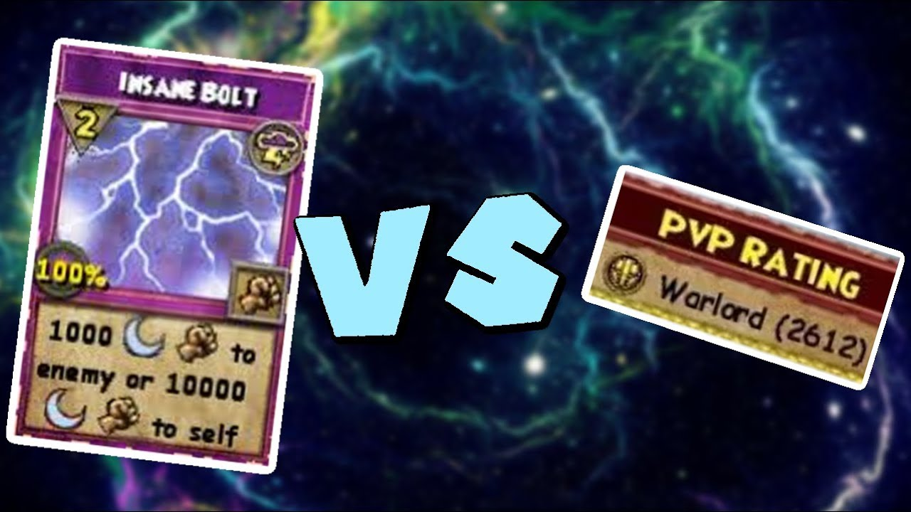 Wizard101 Legendary 60 Storm Pvp Warlord Vs Insane Bolt Youtube