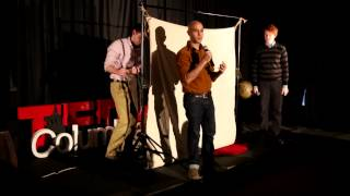 Storytelling - Something Just Out of Sight: PigPen Theatre Company at TEDxColumbiaSIPA
