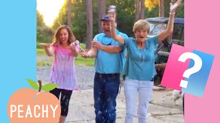 "Cute and Funny Gender Reveal Reactions That'll Make You Say ""AWWW"""
