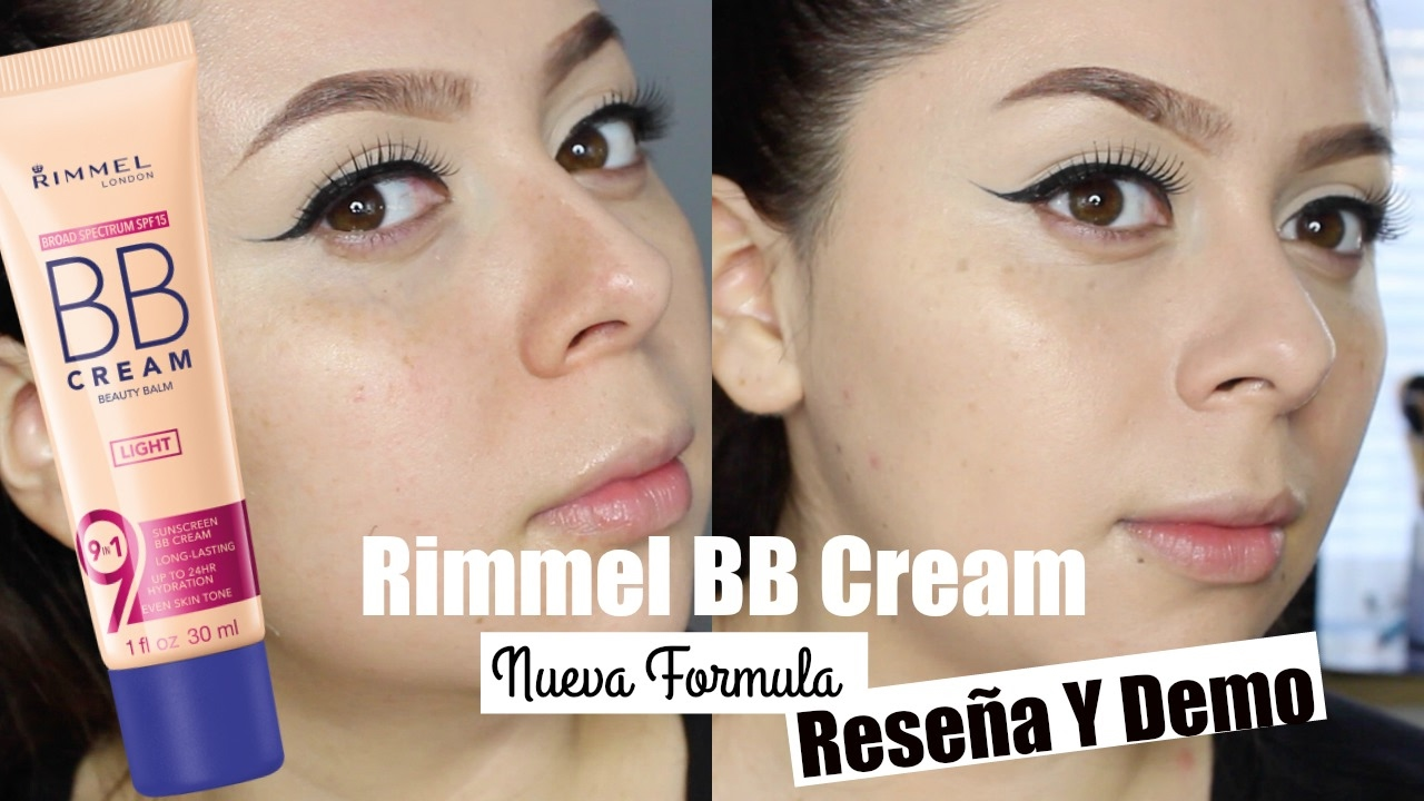 897682b8f97 NEW Rimmel BB Cream NEW FORMULA 9-in-1 Skin Perfecting Super Makeup  Review/Demo ♡