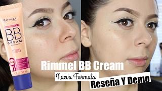 NEW Rimmel  BB Cream NEW FORMULA 9-in-1 Skin Perfecting Super Makeup  Review/Demo ♡