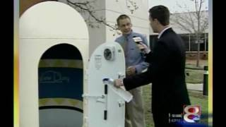 Tulsa's Channel 8 Interviews Dirk DeRose of New Day Tornado Shelters in 2010