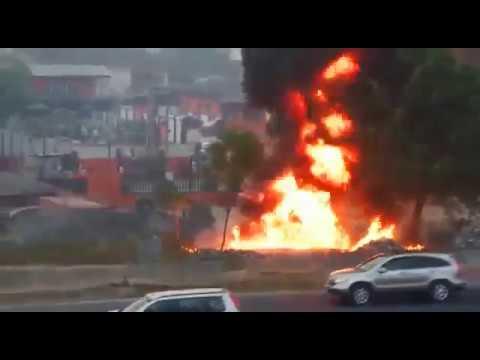 Gas plant explosion At Magodo, Lagos, Nigeria