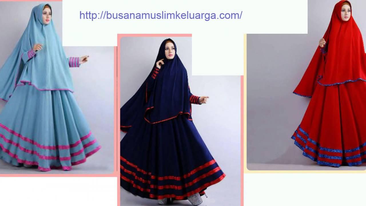 Baju Muslim Couple Keluarga Latifah Busana Syari Cantik Dan Murah Harga Spesial