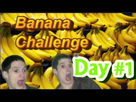 Banana Challenge Day 1 ~Live Stream