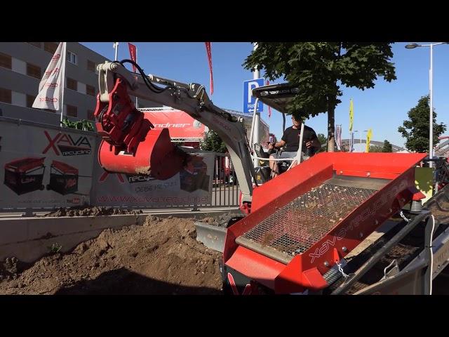 Xava Recycling Rüttelsieb LS12 / Vibrating Screen,  Interview Stefan Loessl