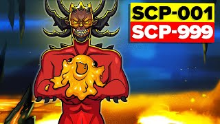 Children of SCP-001 The Scarlet King - Is SCP-999 Really His Son? (SCP Animation)