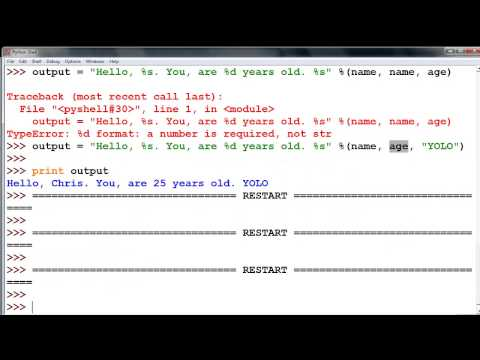 Python Input Output with tKinter - YouTube