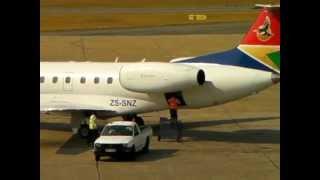 Boarding Embraer 135 - 2