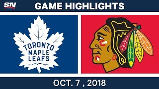 John Tavares scored a hat trick, Auston Matthews had to goals to duel Patrick Kane's pair, and Morgan Rielly scored in OT as the Maple Leafs beat the ...