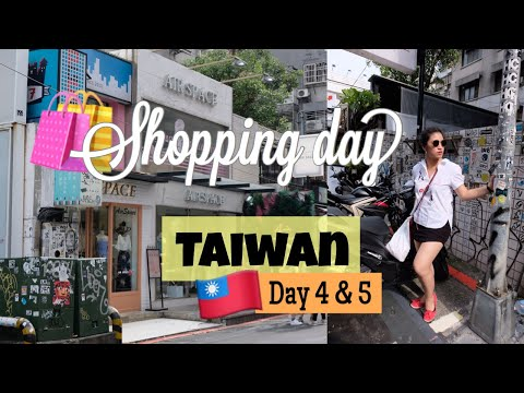 Shopping in Taipei - Zhongxiao Dunhua & Ximending Shopping District | TAIWAN VLOG # 4