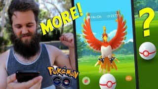 MORE LEGENDARY HO-OH RAIDS! (THESE WERE INTENSE) - POKEMON GO
