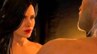 Ведьмак 3: Дикая охота секс с Йеннифер