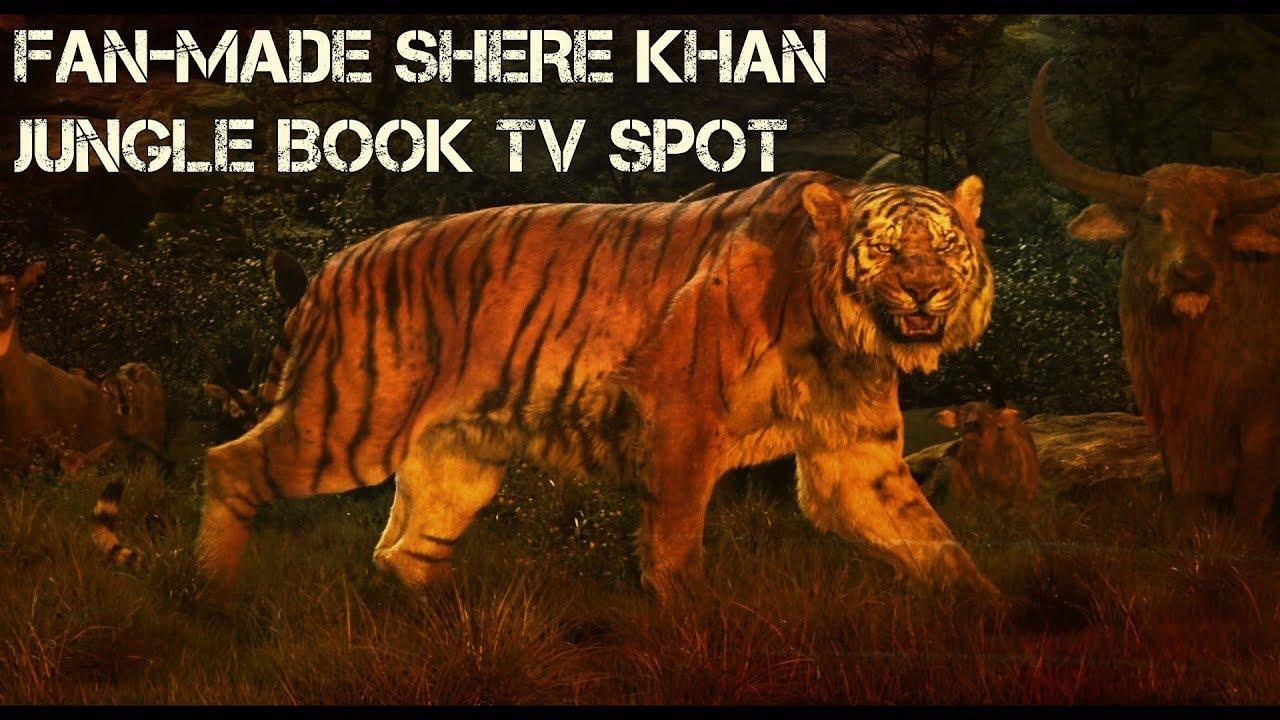 shere khan fan made jungle book tv spot (hd) - youtube