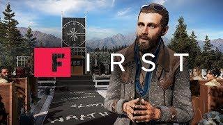 Far Cry 5: Почему Джону Сид ваш очаровательно опасный враг - IGN First
