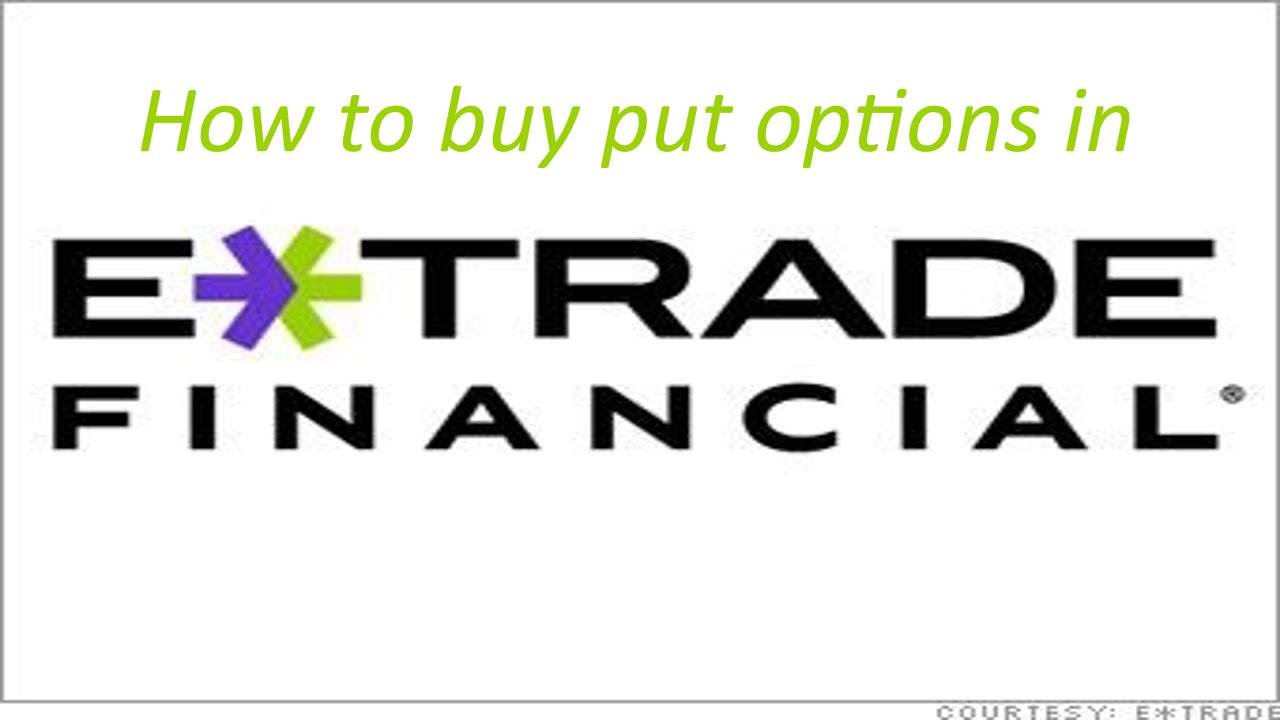 How to trade options etrade
