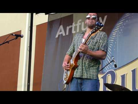 Albert Castiglia - Drowning At The Bottom - 6/3/16 Western Maryland Blues Festival