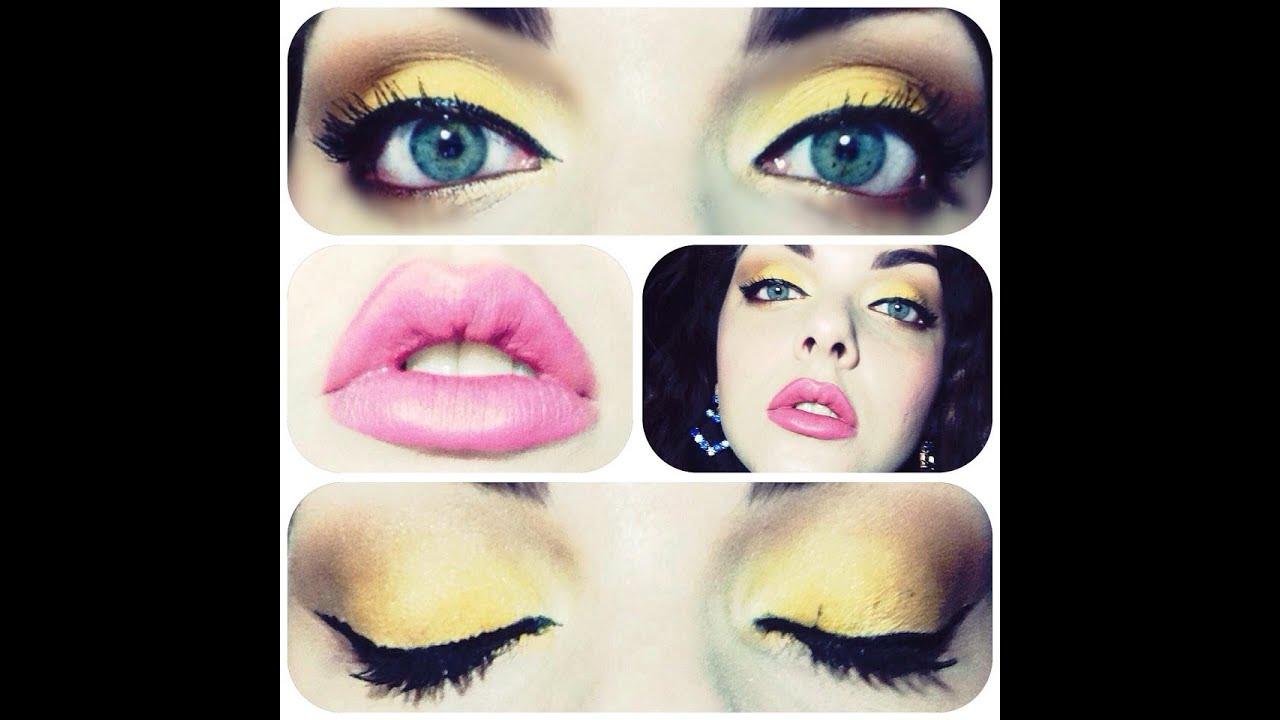 Amato Make up tutorial YELLOW + labbra neutre | Summer 2014! | Mi  CV74