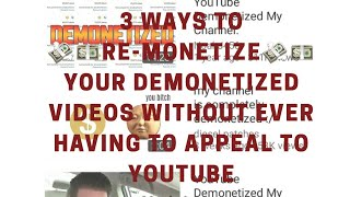 3 Ways to Monetize YouTube Videos that Can't be Monetized Pt. 1