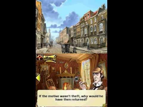 Sherlock Holmes & The Mystery of Osborne House (Nintendo DS Longplay part 1 of 2)