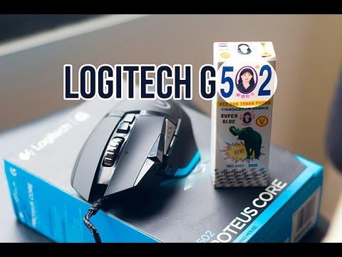 Trên tay chuột chơi game ''quốc dân'' Logitech G502