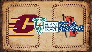 Central Michigan vs. Tulsa | Miami Beach Bowl Preview