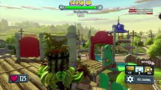 Plants vs. Zombies: Garden Warfare: Camo Cactus Gameplay