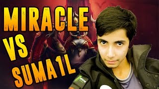 Miracle- Dota 2 [QOP] Solo Mid With Sumail