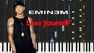 Eminem - Lose Yourself [Piano Tutorial] (♫)