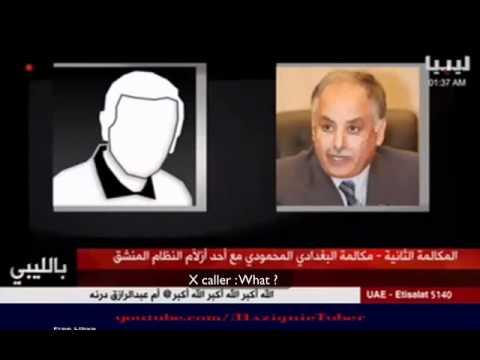 Libyan prime minster El baghdadis call to use dead children for propaganda