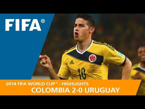 COLOMBIA v URUGUAY (2:0) - 2014 FIFA World Cup™