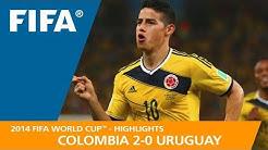 COLOMBIA v URUGUAY (2:0) - 2014 FIFA World Cup™