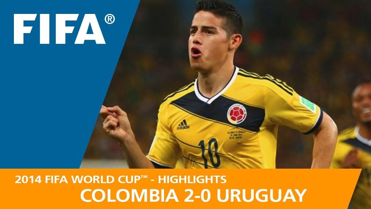 COLOMBIA v URUGUAY 2 0 2014 FIFA World Cup™