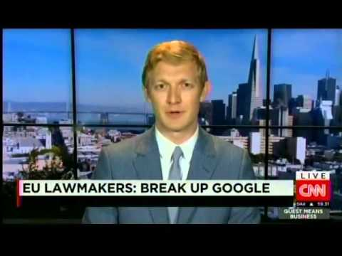 Luther Lowe speaks on CNN regarding Google antitrust