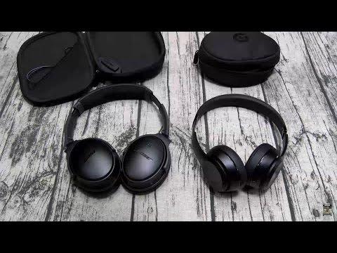 Bose QC35 VS Beats Solo 3 - Best Wireless Headphone