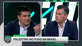 ¡Palestino no pudo ante Internacional en Brasil!