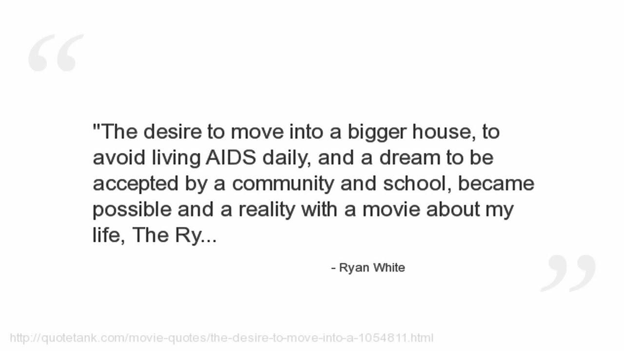 Ryan White Quotes Youtube