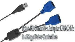 Переходник джойстиков Sega Mega Drive для USB от Retro-Bit