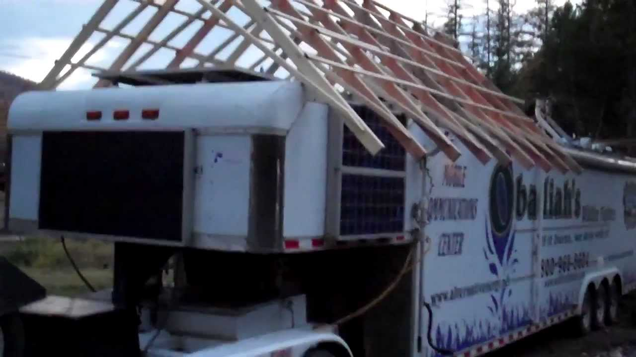 2 Rv Gable Roof System Wildfire Communications Center