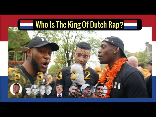 Who is the King of Dutch Rap?