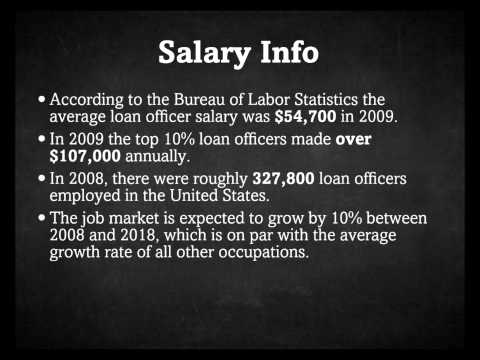 Loan Officer Salary