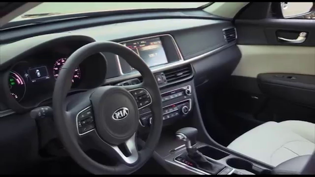 2017 Kia Optima Hybrid Hev Interior Design Trailer Automototv You